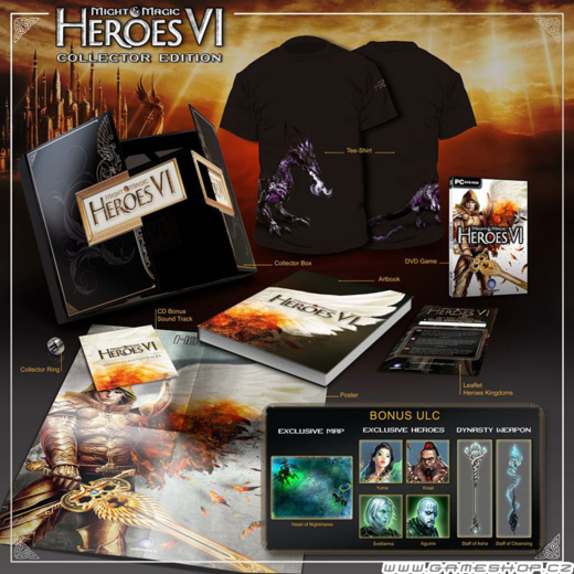 Might and Magic: Heroes VI Sběratelská edice
